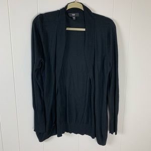 Mossimo Black Cardigan XXL EUC Long Sleeve